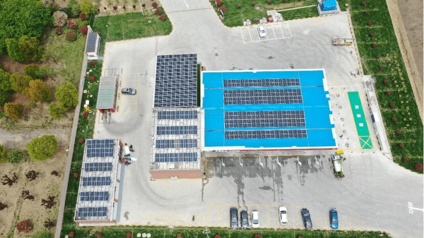 中國石化建成分布式光伏發電站點205座