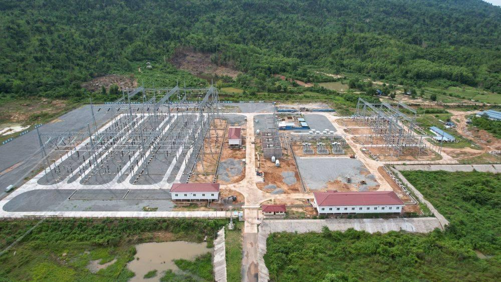 老挝500千伏帕腊变电站预计年内正式投产运行
