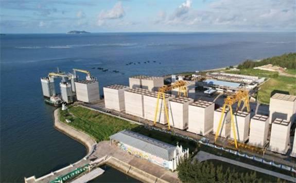 茂名港博贺新港区油品码头建设提速 助力打造海上能源新通道