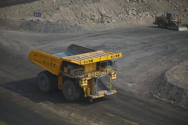 国家能源集团无人驾驶矿用卡车用于智能矿山建设