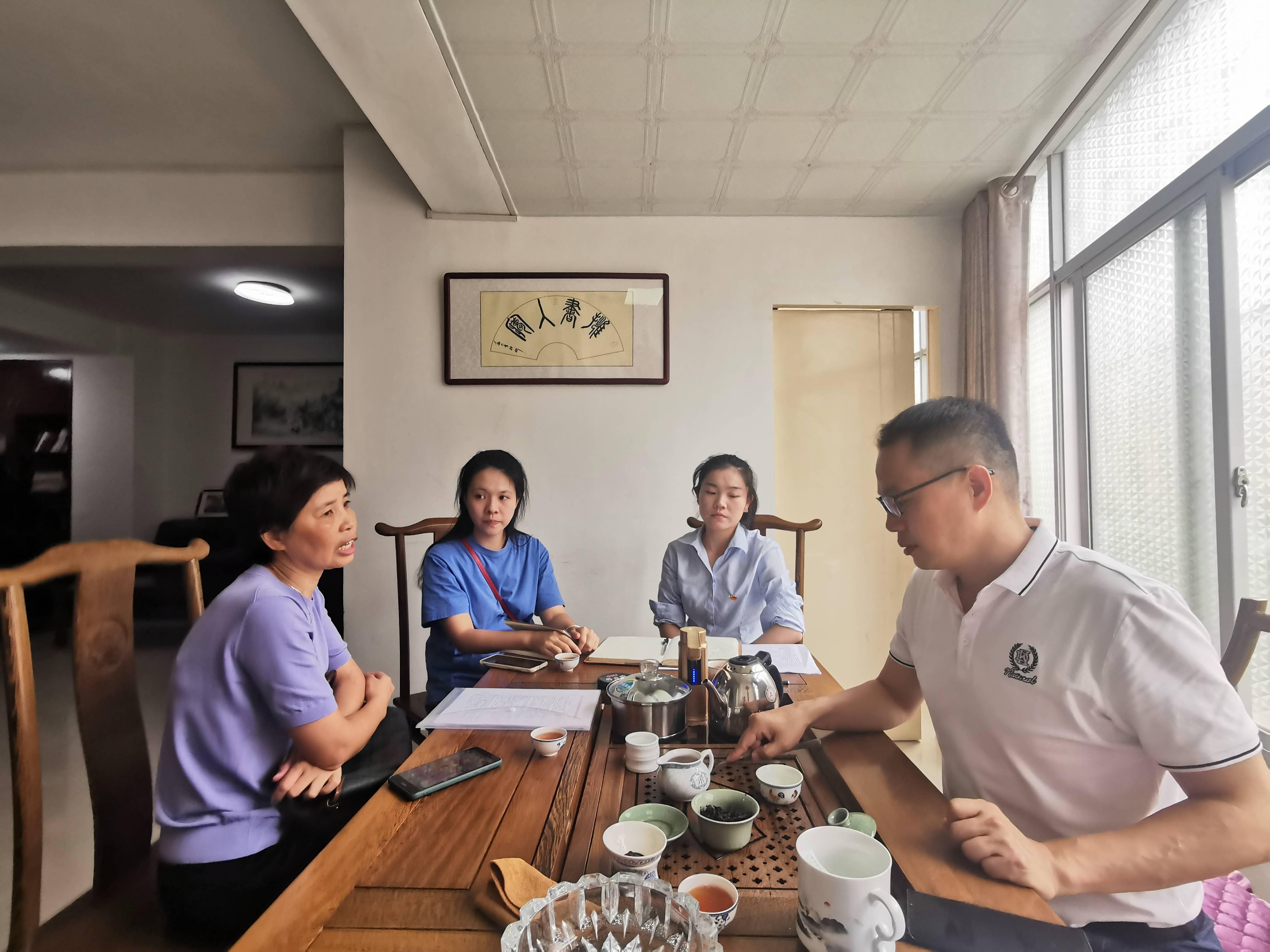 国能(福州)热电有限公司与福州西关社区开展结对共建