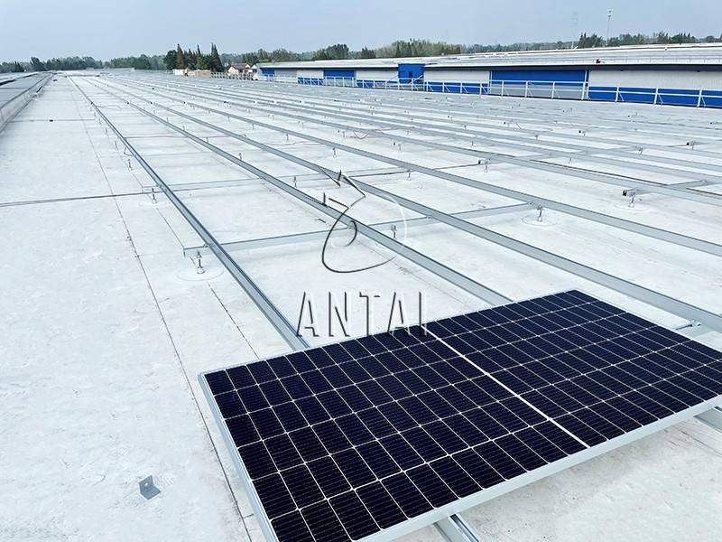 分布式屋顶全覆盖!解锁安泰新能源TPO柔性屋顶项目定制化支架系统