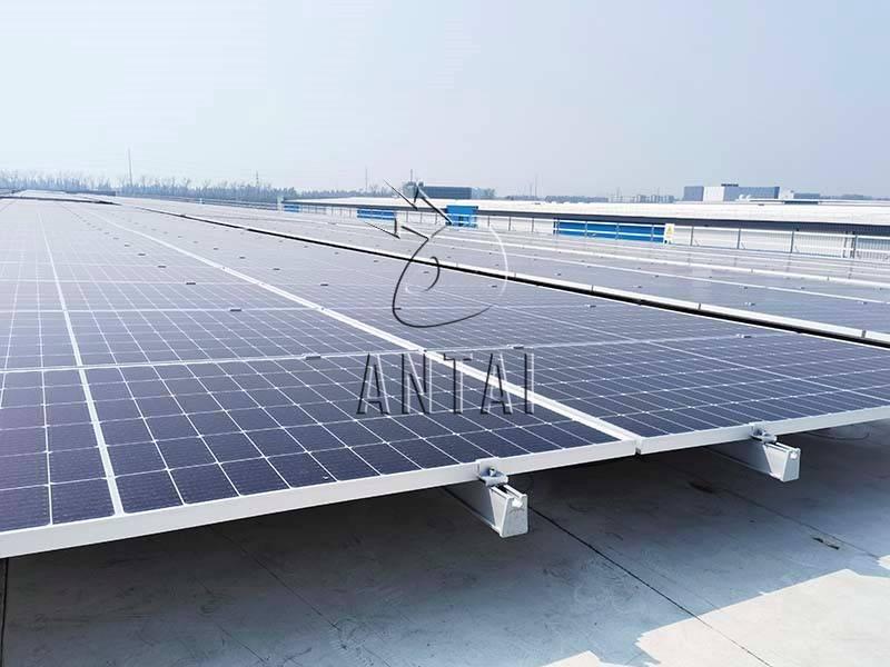 分布式屋頂全覆蓋!解鎖安泰新能源TPO柔性屋頂項目定制化支架系統