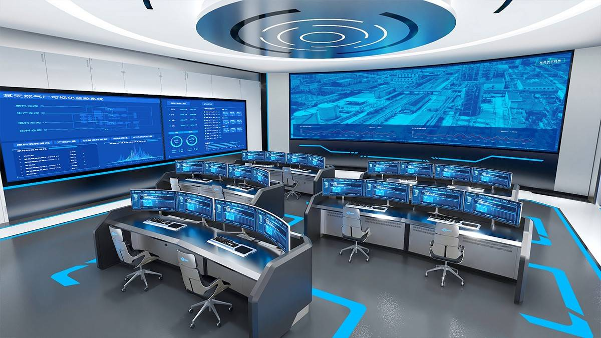 發展清潔能源,守護綠水青山!天然氣調控中心智能化升級