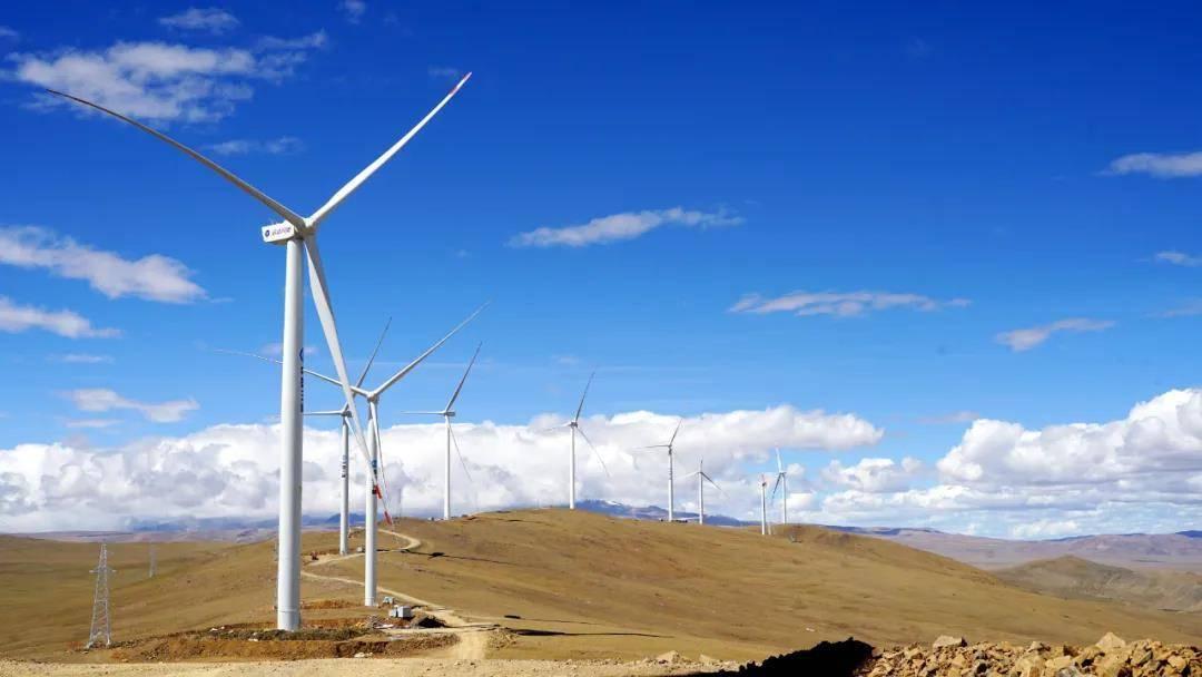 世界海拔最高风电项目全部机组吊装完成