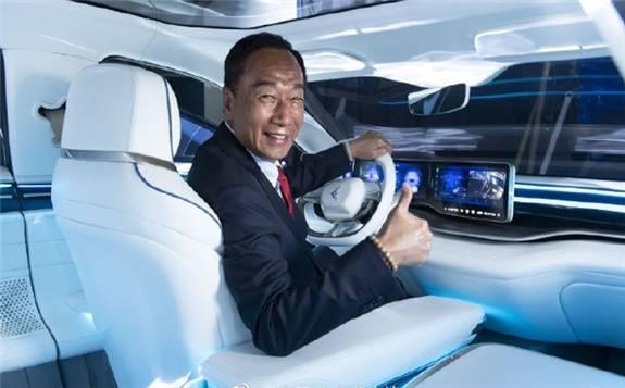 富士康董事长刘扬伟:5年内电动汽车业务年营收达到350亿美元