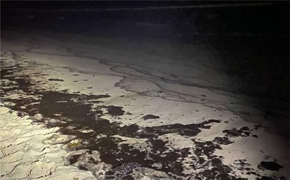 南加州原油泄漏或因貨輪下錨 撞擊到海底輸油管道