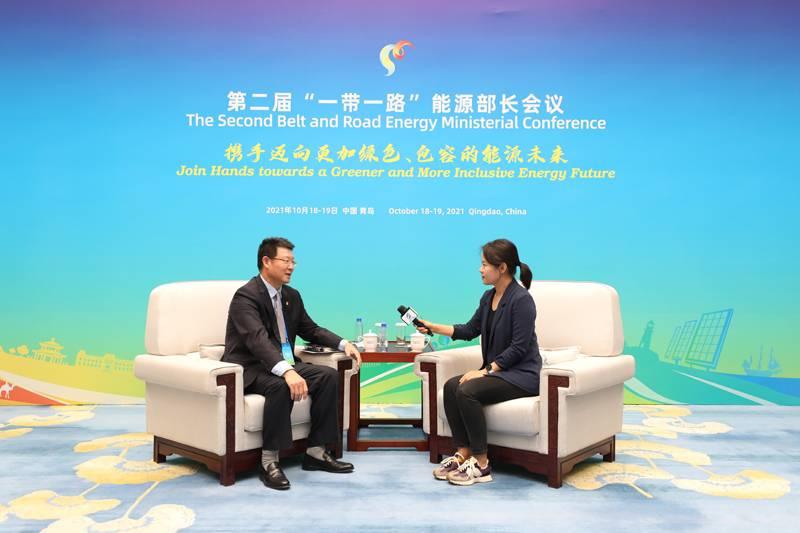 """中国电力报专访吴文豪:""""一带一路""""能源合作伙伴关系实现精准合作"""